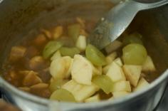 Adicionando as frutas