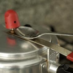 Frango na panela de pressão
