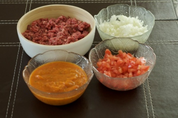 Ingredientes para o molho