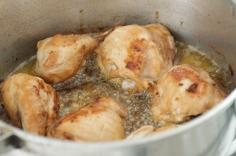 Frite o frango