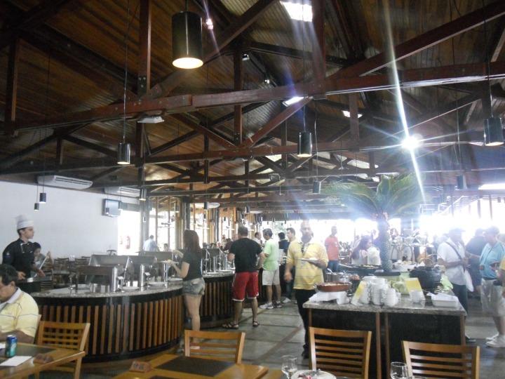 Vista do Restaurante Porto Canoas