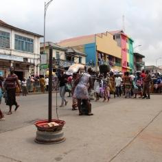 Ruas de Accra