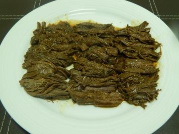 Carne cozida - rende 3 a 4 porções