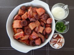 Carnes e ingredientes preparados