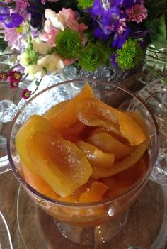 Compota de laranja