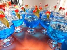 Coqueteis azuis