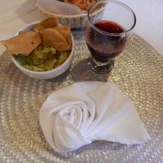 Tacos com guacamole