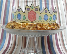 e enfeite com a coroa de Reis!