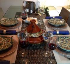 Panela na mesa