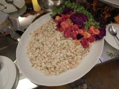 Salada de aipo com frango