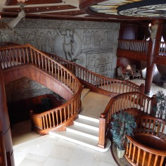 Escada do hall