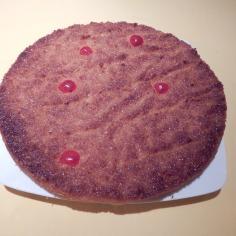 Torta com côco e amêndoas