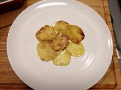Camada de batatas