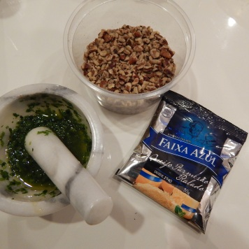 Ingredientes do pesto