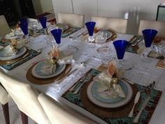A mesa posta