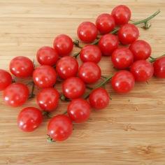 Tomates cereja da região