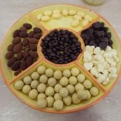 Chocolates com limão e laranja