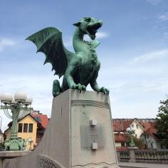 Dragão símbolo da cidade
