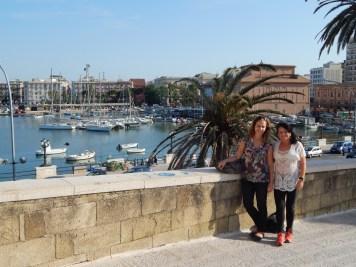 Vista do porto