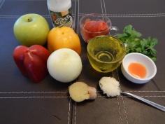 Ingredientes do molho