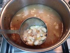Cozinhe as favas