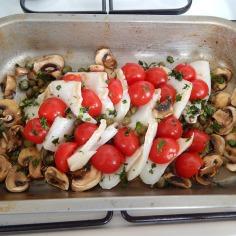 Acrescente os tomates
