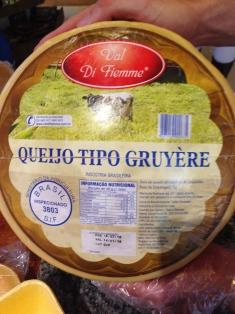 Queijo tipo Gruyère