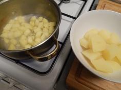 Cozinhando separadamente