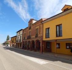 Rua típica do centro