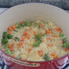 o arroz