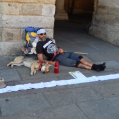 Merecido descanso depois de 3 meses de caminhada
