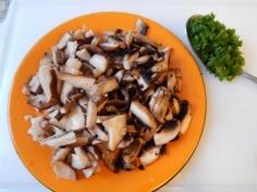 cogumelos picados