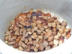 Frite a carne