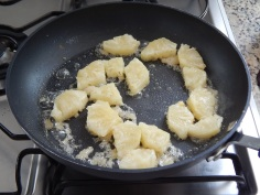 Passe o abacaxi no açúcar