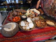 Alimentos típicos do Peru