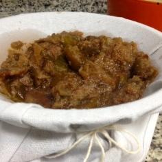 Pasta de figos cozidos