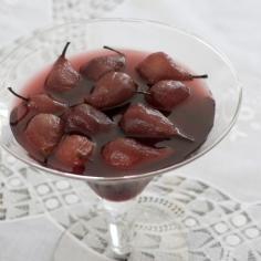 Peras ao vinho