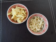 Gengibre e alho