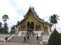 Templo em Luang Prabang no Laos