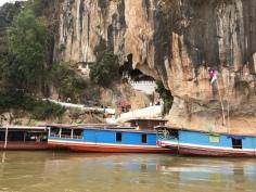Templo dos 1000 Budas no Rio Mekong, Laos