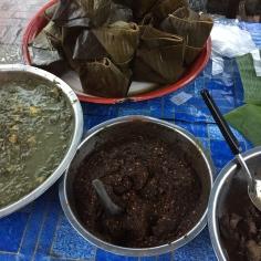 Amok fish e outras comidas típicas