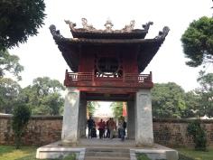 Portal chinês em Hanói, Vietnã