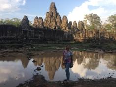 Templo de Bayon, Angkor, Camboja