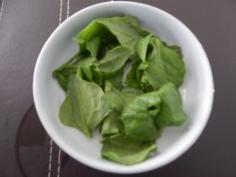 Folhas de espinafre