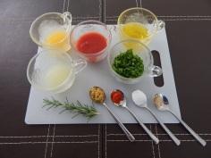 Molho - ingredientes