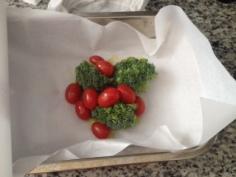Escolha os legumes