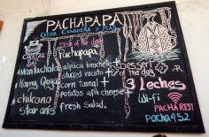 Restaurante Pachapapa- Cuzco