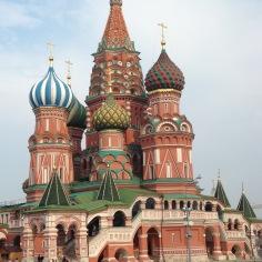 Catedral de São Basílio - Praça Vermelha - Moscou