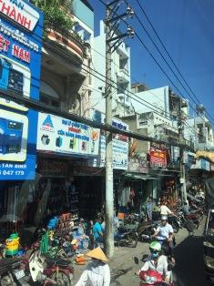 Rua do centro de Hanoi
